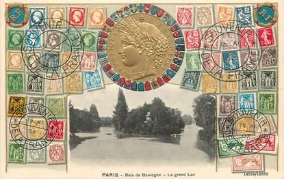 """CPA FRANCE 75016 """"Paris, le Bois de Boulogne et le Lac"""""""