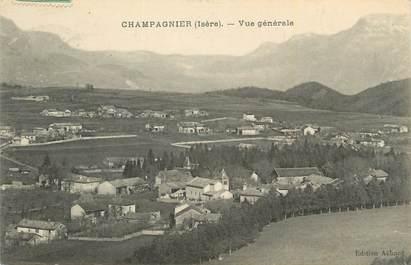 """CPA FRANCE 38 """"Champagnier, Vue générale""""."""