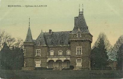 """CPA FRANCE 38 """"Morestel, Château de Lancin""""."""