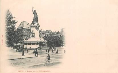 """CPA FRANCE 75011 """"Paris, Place de la République"""""""