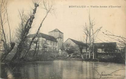 """CPA FRANCE 38 Montallieu, Vieille Ferme""""."""