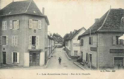 """CPA FRANCE 38 """"Les Avenières, Rue de la Chapelle""""."""
