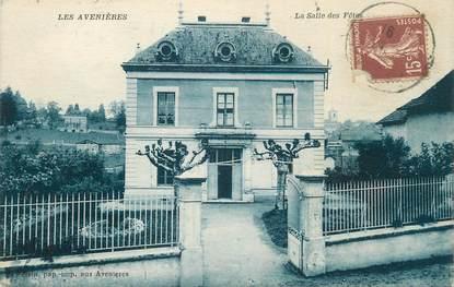 """CPA FRANCE 38 """"Les Avenières, La salle des fêtes""""."""