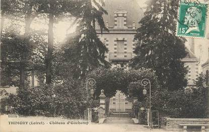 """CPA FRANCE 45 """"Thimory, Château d'Ouchamp""""."""