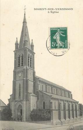 """CPA FRANCE 45 """"Nogent sur Vernisson, L'église""""."""
