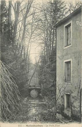 "CPA FRANCE 45 ""Malesherbes, Le petit pont""."