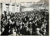 "Photograp Hy PHOTO ORIGINALE / ITALIE "" La Foule de Cassino et la fanfare"""