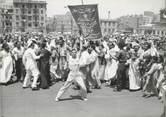 """Afrique PHOTO ORIGINALE / EGYPTE """"Le palais royal du Caire, 1951, enthousiasme du peuple suite au mariage du Roi Farouk"""""""