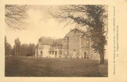 """CPA FRANCE 45 """"Les Choux, Château du Moulin au Lièvre """"."""
