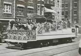 """Photograp Hy PHOTO ORIGINALE / CANADA """"Mise en service d'un Tramway découvert entre Montréal et Québec"""""""