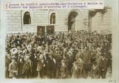 """Photograp Hy PHOTO ORIGINALE / ALLEMAGNE """"Manifestation à Berlin à propos du conflit Austro serbe"""""""