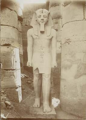 """PHOTO ORIGINALE / EGYPTE """"Statue de Ramsès, Temple de Louxor"""""""