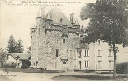 """CPA FRANCE 43 """"Près de Yssingeaux, Le château de Vaux""""."""