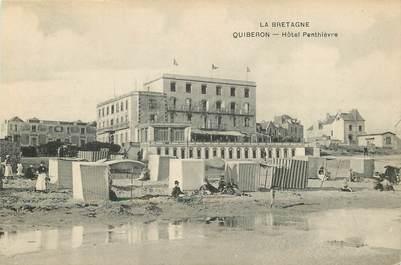 "CPA FRANCE 56 ""Quiberon, Hotel Penthièvre"""