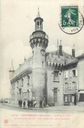 """CPA FRANCE 43 """"Yssingeaux, L'Hôtel de Ville""""."""
