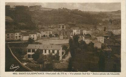 """CPA FRANCE 43 """"St Julien d'Ances, Vue générale""""."""