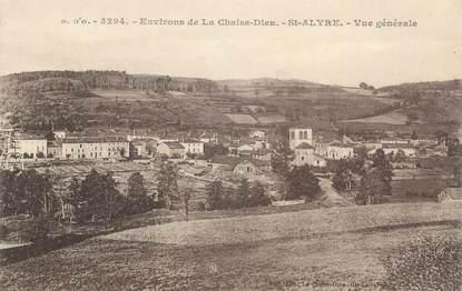 """CPA FRANCE 43 """"St Alyre, Vue générale""""."""