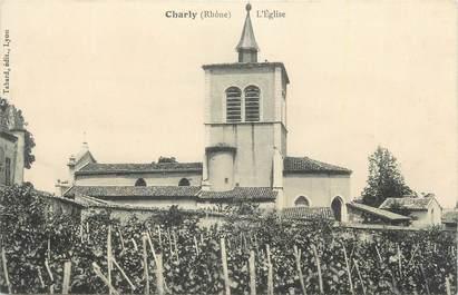 "CPA FRANCE 69 ""Charly,L'église""."