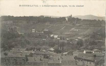 """CPA FRANCE 69 """"St Genis Laval, L'Observatoire de Lyon, vue du clocher""""."""