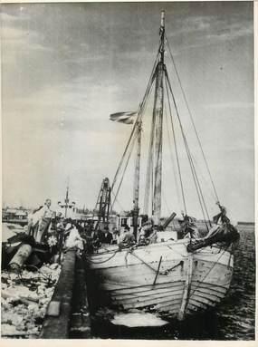 """PHOTO ORIGINALE / USA """"Floride, 24 réfugiés esthoniens et lituaniens, 1947"""""""