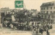 "56 Morbihan CPA FRANCE 56 ""Quiberon, La place Hoche"""