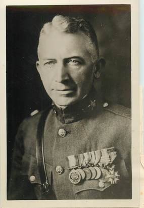 "PHOTO ORIGINALE / CHINE ""Colonel Lorenzo D. Gasser, Shanghaï"""