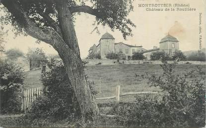 """CPA FRANCE 69 """"Montrottier, Château de la Roullière""""."""