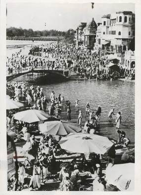 "PHOTO ORIGINALE / INDE ""la Fête du Kumbh Mela, 1938"""