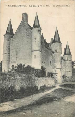 """CPA FRANCE 22 """"Le Quiou, Le château du Hac""""."""