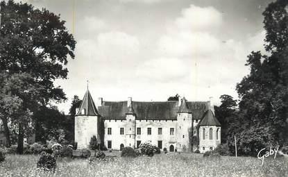 """CPSM FRANCE 22 """"La Chèze, Château de St Etienne du Gué de l'IIsle""""."""