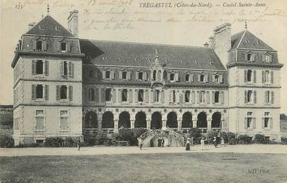 "CPA FRANCE 22 ""Trégastel, Castel Ste Anne""."