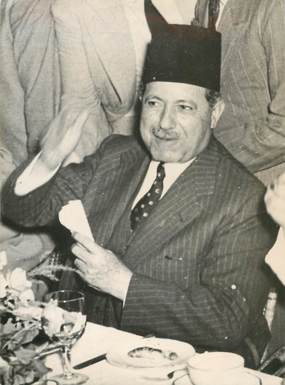 "PHOTO ORIGINALE / EGYPTE ""Assassinat du 1er ministre d'Egypte"""