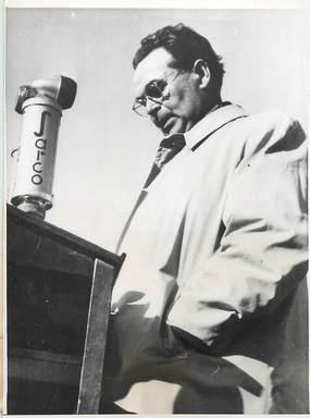 """PHOTO ORIGINALE / FINLANDE """"Ministre de l'Intérieur Leino, 1948"""""""