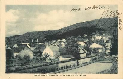 """CPA FRANCE 21 """"Lantenay, Le quartier de l'église""""."""