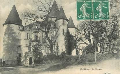 """CPA FRANCE 19 """"Seilhac, Le château""""."""