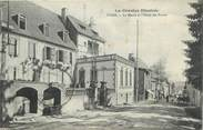 """19 Correze CPA FRANCE 19 """"Ussel, La Mairie et l'Hôtel des Postes""""."""