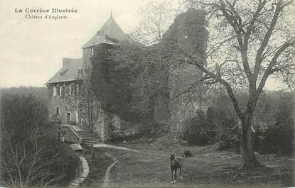 """CPA FRANCE 19 """"Anglards, Le château""""."""