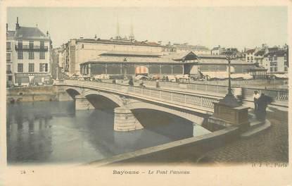 "CPA FRANCE 64 ""Bayonne, Le pont Panecau""."