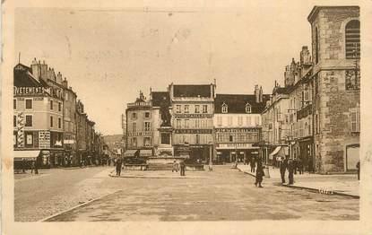 """CPA FRANCE 39 """"Lons le Saunier, Place de la Liberté """"."""