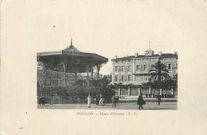 """CPA FRANCE 83 """"Toulon, Place d'Armes""""."""