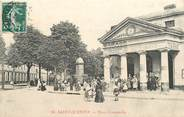 "02 Aisne CPA FRANCE 02 ""Saint Quentin, Place Crommelin"""