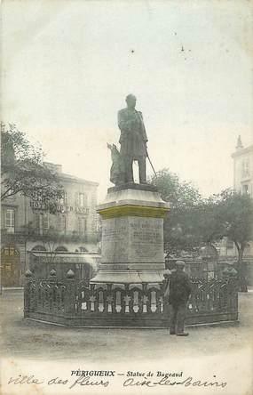 """CPA FRANCE 24 """"Périgueux, Statue de Bugeaud"""""""