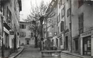 """83 Var CPSM FRANCE 83 """"Aups, Place Louis Gautier""""."""