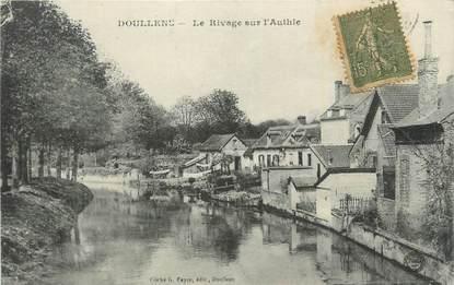 """CPA FRANCE 80 """" Doullens, Le rivage sur l'Authie""""."""