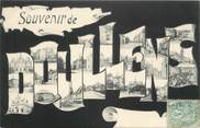 """80 Somme CPA FRANCE 80 """" Doullens, Vues""""."""