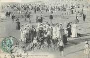 """80 Somme CPA FRANCE 80 """"Mers les Bains, Occupation d'un fort sur la plage'."""