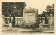 "80 Somme CPA FRANCE 80 "" Ham, Monument aux morts""."