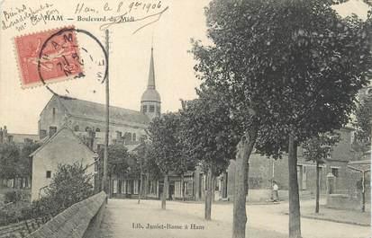"""CPA FRANCE 80 """" Ham, Boulevard du Midi""""."""