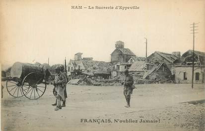 """CPA FRANCE 80 """" Ham, La sucrerie d'Eppeville""""."""