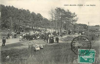 "CPA FRANCE 80 ""Fort Mahon Plage, Les sapins""."